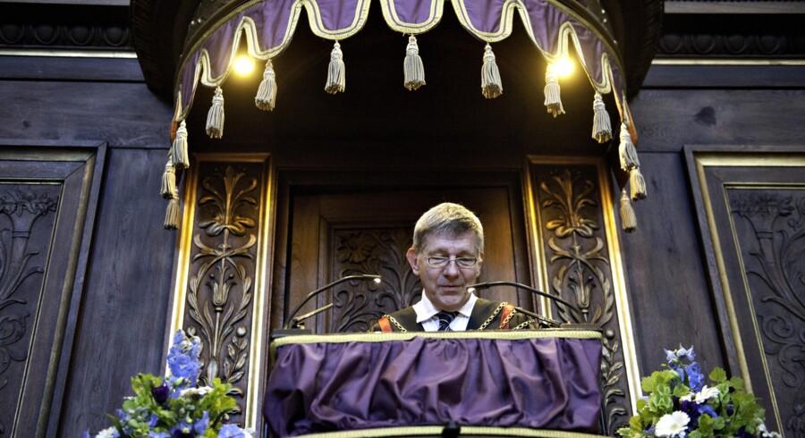 Rektor Ralf Hemmingsen holder tale til de studerende ved Immatrikulation på Københavns Universitet torsdag d. 2 september 2010.