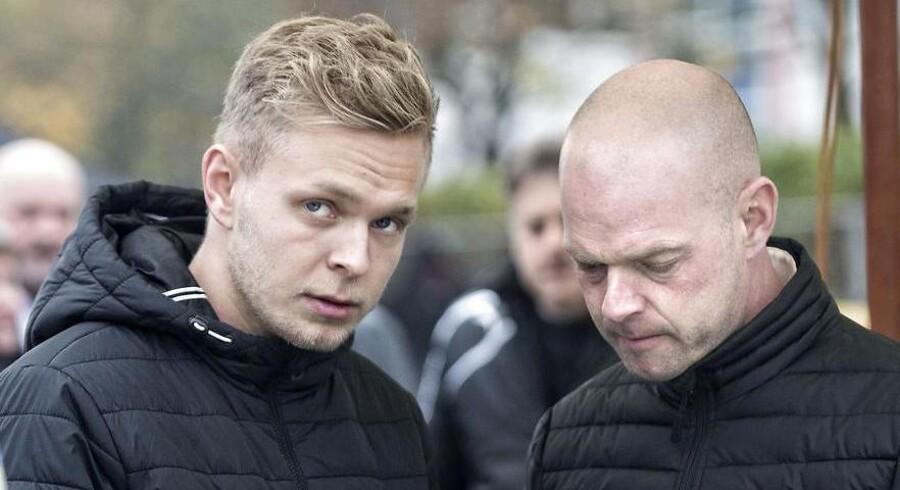Jan Magnussen (th.) ved, hvilket pres hans søn er under, når man har nået toppen af poppen indenfor motorsport