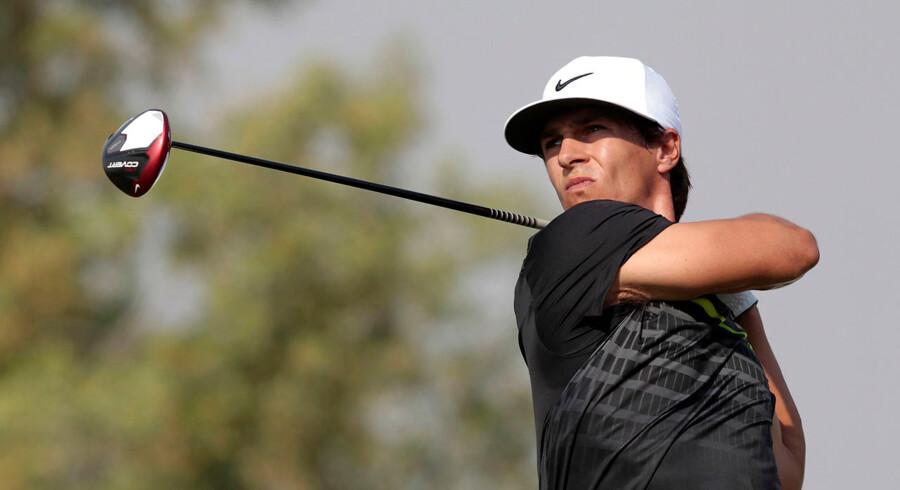 Thorbjørn Olesen er kommet godt fra land ved DP World Tour Championship i Dubai.