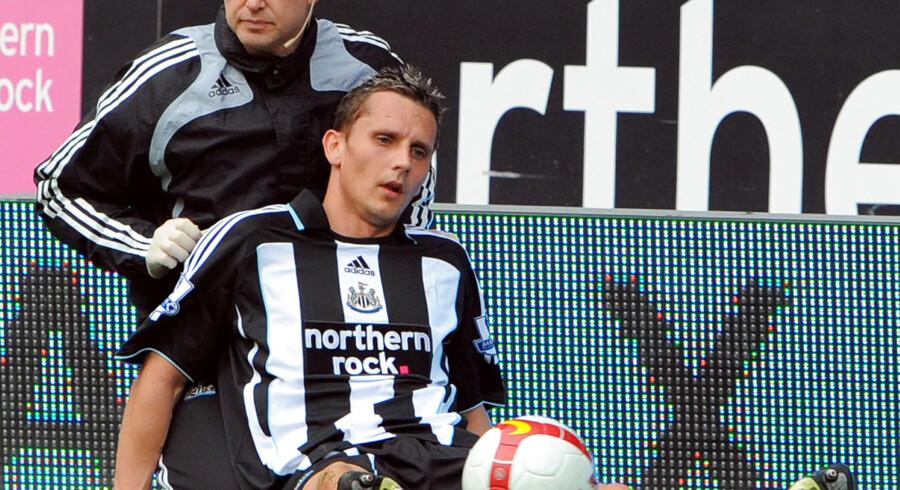 Peter Løvenkrands nød størst succes i sin karriere i Glasgow Rangers og i Newcastle (billedet).