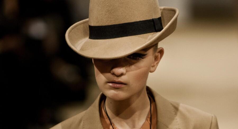 By Malene Birger modeshow på Charlottenborg fredag aften den 4. februar Copenhagen Fashion Week 2011.