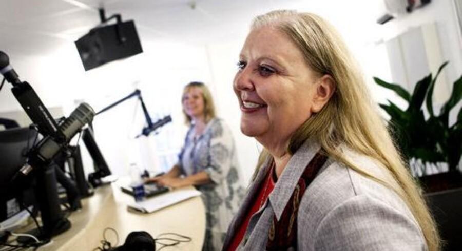 Koncernchef Lisbeth Knudsen ved premieren radiokanalen Pop FM. Nu har Berlingske Media og PeopleGroup i fællesskab som de eneste budt på den nye FM4-radiokanal.