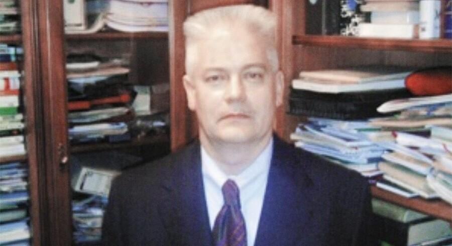 Sådan ser han angiveligt ud, den gådefulde professor Lorenz Haag.