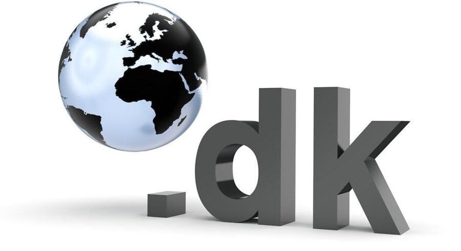 Kun tre danske netadresser er taget ud af drift og kan ikke købes. Arkivfoto: Iris/Scanpix