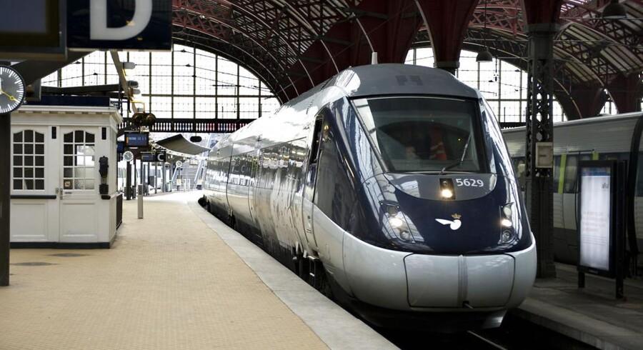 ARKIVFOTO 2011. Flere tog kommer til at holde stille på grund af skiftet til vintertid i weekenden.