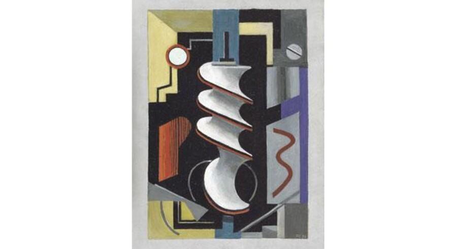 'Skruen' blev malet i 1926-1928, mens Franciska Clausen studerede på Femand Legers Kunstskole i Paris. Skolen til trak elever fra hele Europa, bl.a. Asger Jorn, som studerede er i midten af 1930erne.