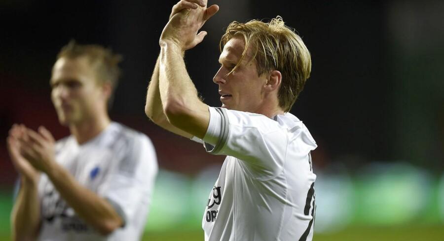 Christian Poulsen havde ikke forventet at få comeback i FCK-trøjen allerede mod Randers.