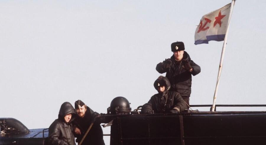Ubådskrænkelser i Sverige. 28. oktober 1981 gik en sovjetisk ubåd U137 på grund uden for Karlskrona - en begivenhed, der gav genlyd i hele verden. BV.: