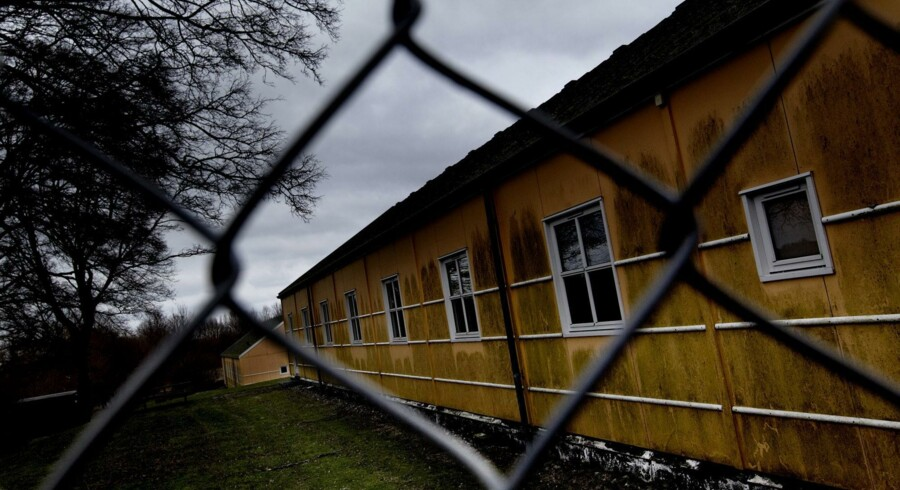 Center Sandholm, hvor en iraner lever på tålt ophold – her overtrådte han sidste år 92 gange sin meldepligt til politiet.