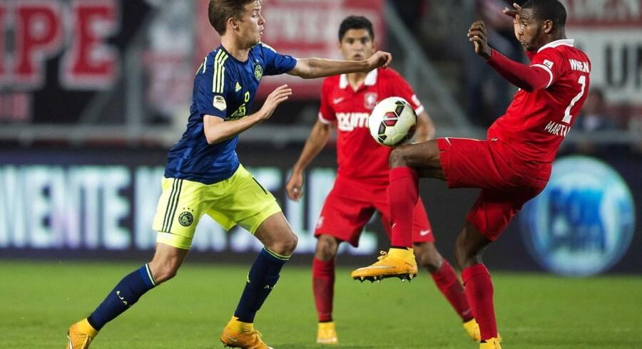 Lucas Andersen spillede hele kampen mod Twente.