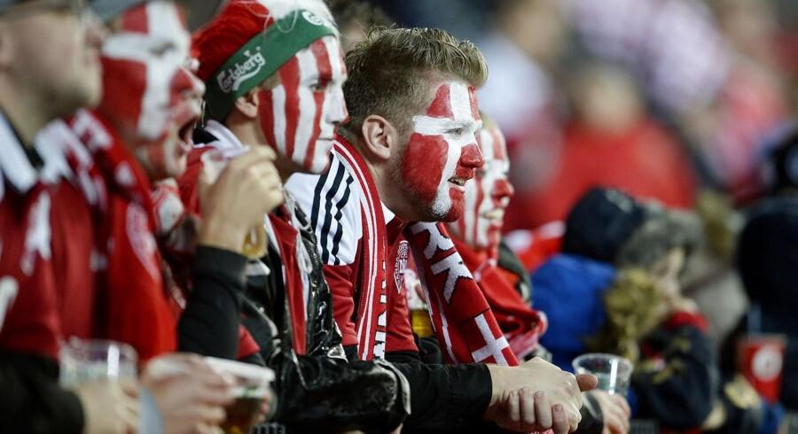 Danmark-Portugal. Danske fans