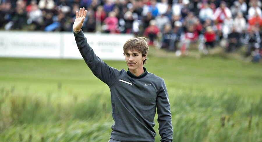Thorbjørn Olesen har sikker kurs mod European Tour-sejr i Australien.
