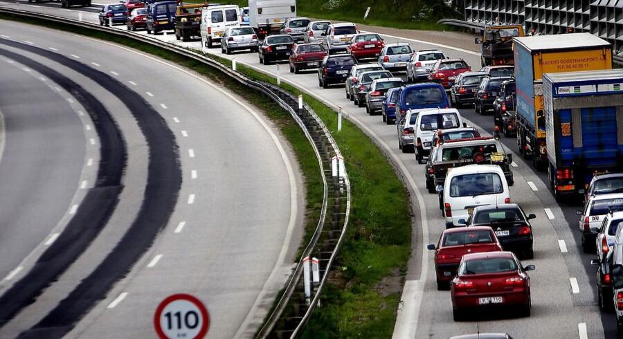 Arkivfoto: Holbækmotorvejen.