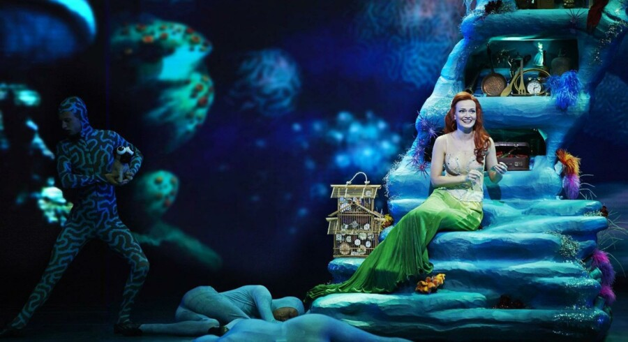 »Den lille havfrue« var først en succes i København, og nu har forestillingen slået publikumsrekord i Fredericia. Foto: PR