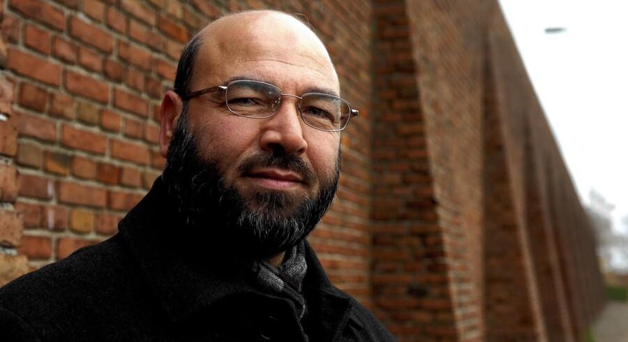 Den kontroversielle imam Muhammed Khaled Samha har udgangspunkt i Odense-forstaden Vollsmose, men har indflydelse i muslimske kredse i hele landet. Foto: Carsten Andreasen/Polfoto