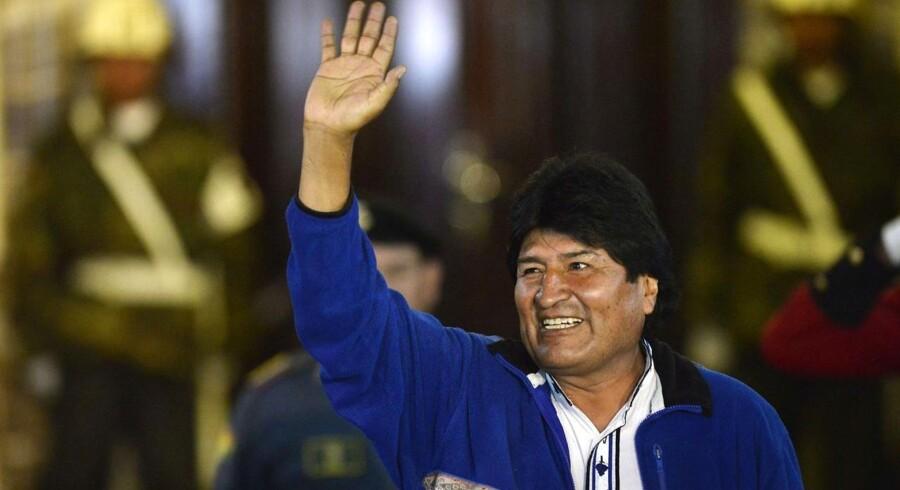 Evo Morales ligner også Bolivias fremtidige præsident.