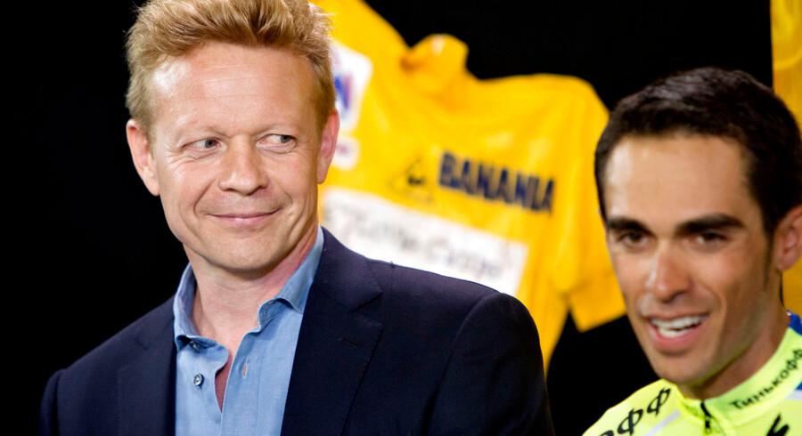 Philippe Mauduit, her sammen med Alberto Contador forud for årets Tour de France, er færdig som sportsdirektør hos Bjarne Riis.