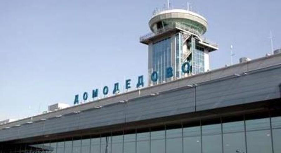 Domodedovo-lufthavnen i Moskva er i dag blevet ramt af en selvmordsbombe. Arkivfoto: Wikimedia Commons/Dzerod.