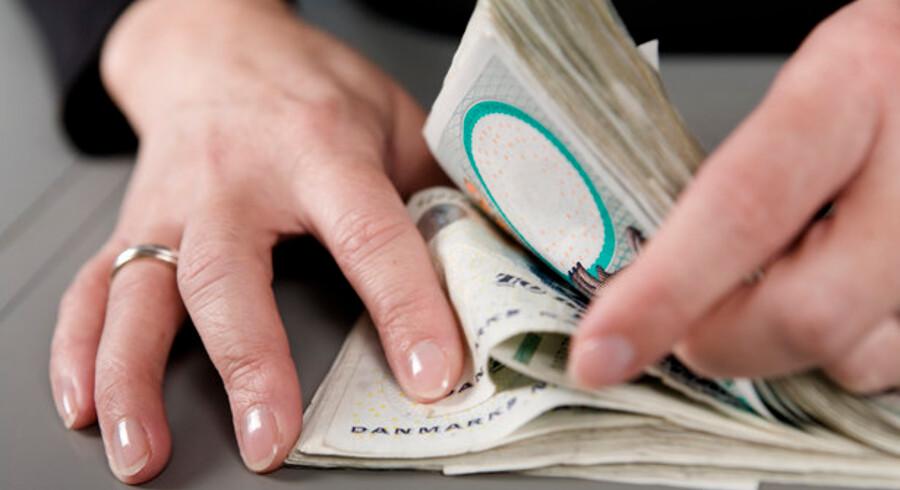 Lån uden sikkerhed er faldet drastisk som følge af finanskrisen.