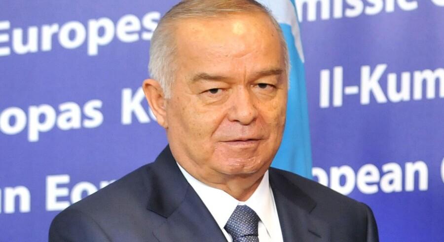 Usbekistans præsident, Islam Karimov.