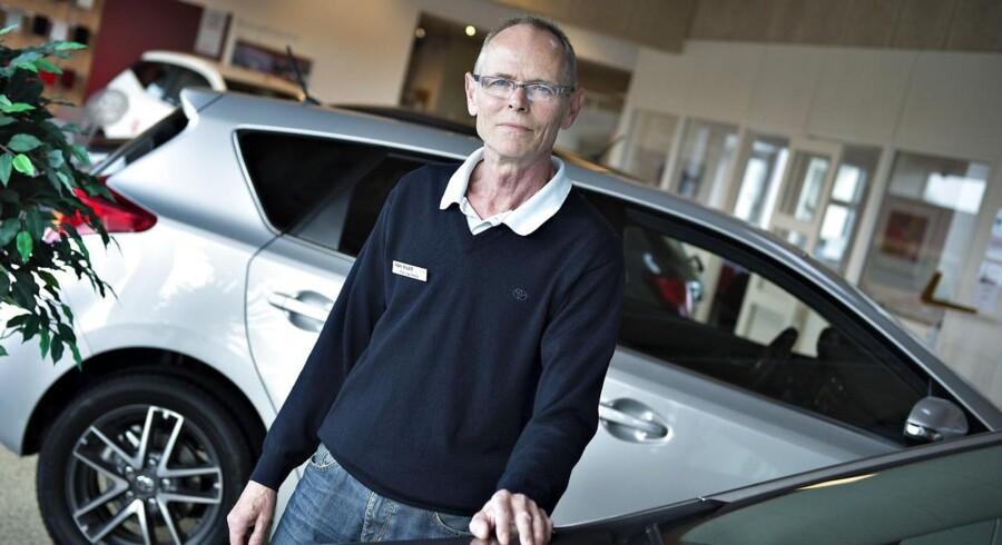 Per Hannesbo, der ejer HH BIler Løgstør, fortæller om SKATs besøg.