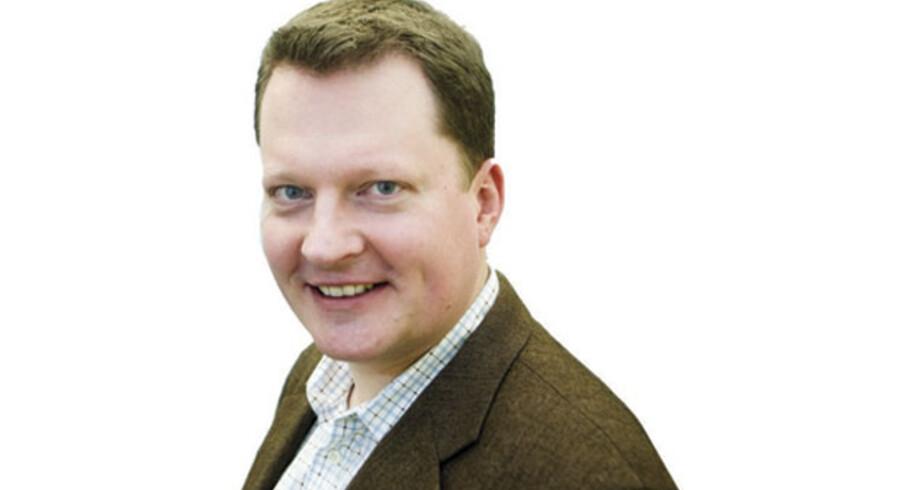 Jesper Beinov, nyhedsredaktør og daglig leder Debat & Navneredaktionen