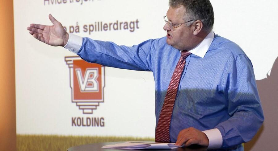 VBs bestyrelsesformand, Lars Skou, fortæller i en pressemeddelelse, at klubben har opnået 2/3 forudsætninger.