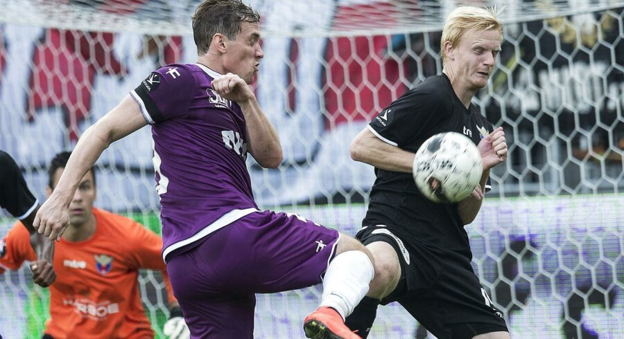 Morten Duncan Rasmussen var tilbage for FC Midtjylland, da de søndag vandt 1-0 over FC Vestsjælland