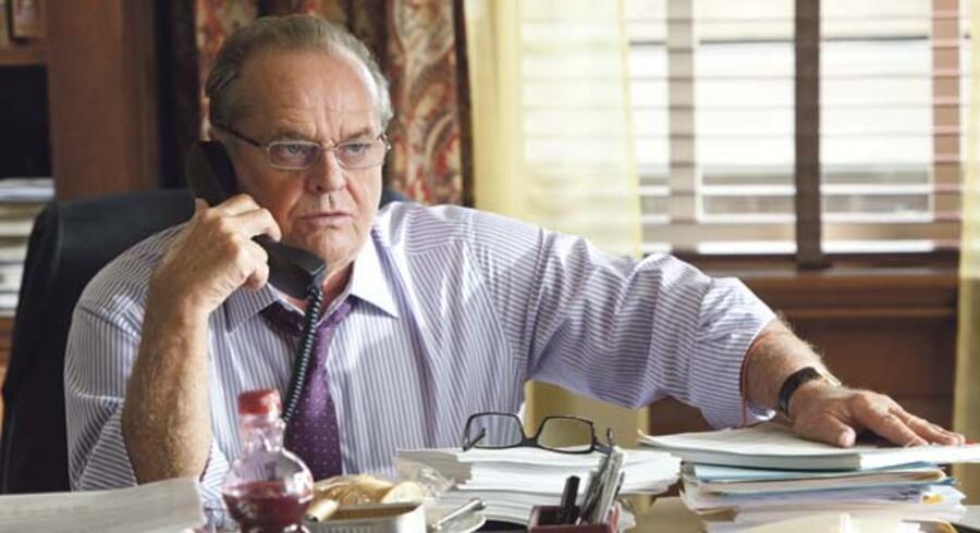 Jack Nicholson leverer en af sin karrieres mindst mindeværdige præstationer i den umorsomme komedie »Alt hvad du har«.