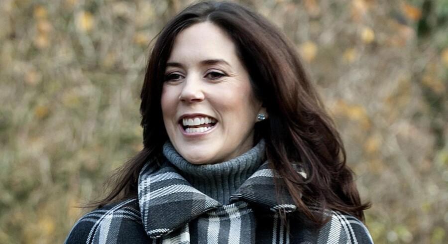 Kronprinsesse Mary er blevet indlagt for at føde de kongelige tvillinger.