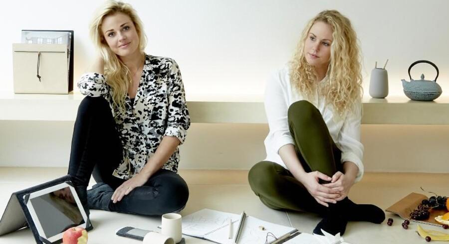 Søstrene Bine og Mie Lind har firmaet LIND DNA sammen med deres far.
