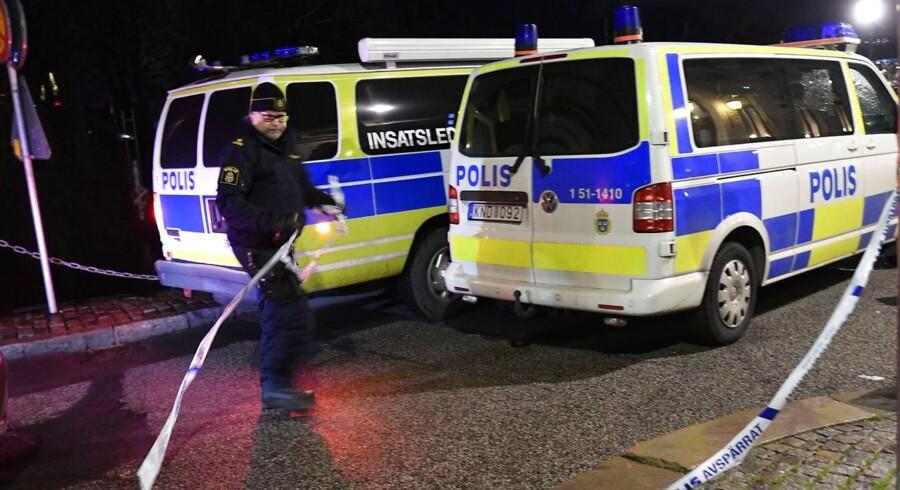 Arkivfoto. I september afholdte en nynazistisk forening optog i Göteborg. Her blev flere moddemonstranter anholdt.