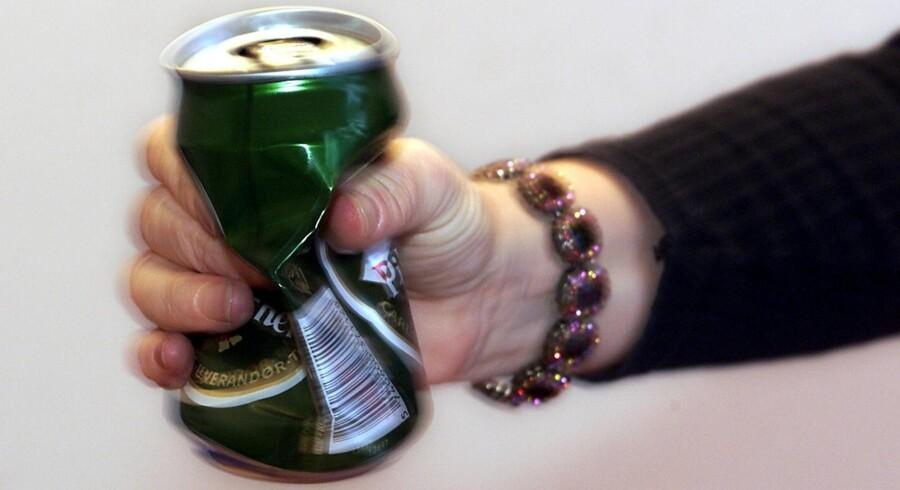 71 procent af forældre synes, at unge i Danmark generelt drikker for meget. Scanpix/Maria Hedegaard/arkiv