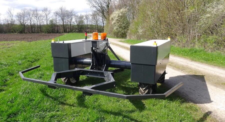 Robottraktorer gør landbruget grønnere De første danske robottraktorer kører snart på markerne. Det kan vende op og ned på måden at dyrke marker på.