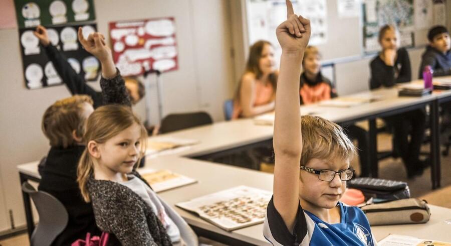 Eleverne i 3.b. går på Hotherskolen i Stevns Kommune. Folkeskolen er en af Danmarks stadigt færre blandede skoler, hvor elevgruppen kommer fra alle indkomstlag.
