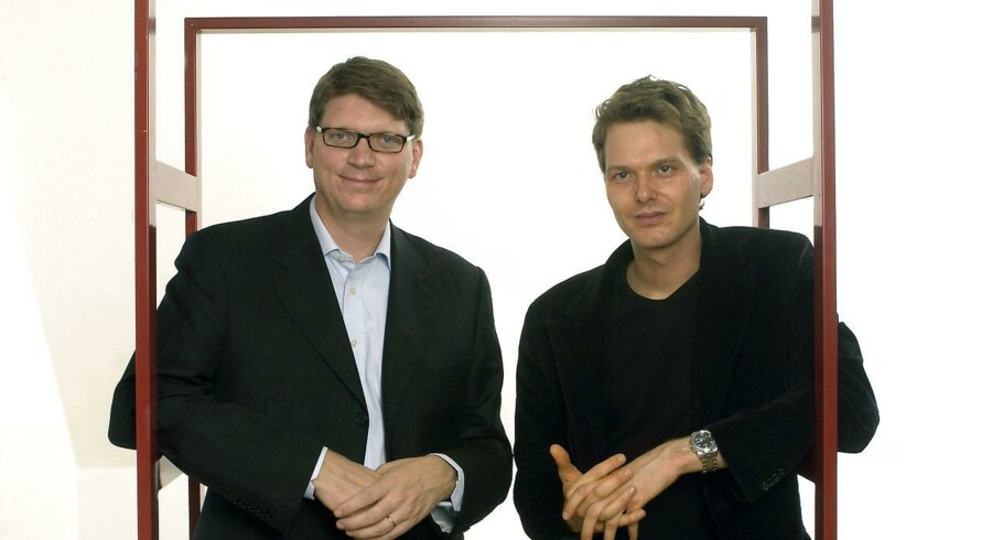 Janus Friis og Niklas Zennströmmåtte opgive deres tv-drøm med Joost