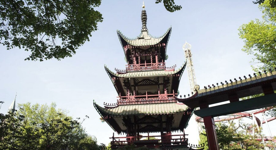 Kiin Kiin Piinto i Det kinesiske Tårn i Tivoli serverer femretters serveringer tematiseret efter asiatiske lande.
