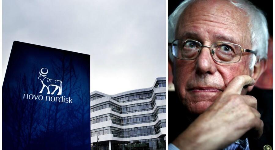 »Eli Lilly og Novo Nordisk går tydeligvis mere op i profit end deres patienter. Det er på tide at stoppe deres grådighed,« skriver Bernie Sanders på det sociale medie Twitter.