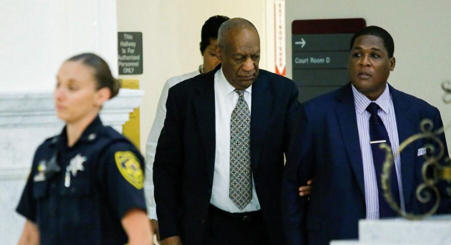 Bill Cosby, da han ankom til Montgomery County Courthouse i Norristown, Pennsylvania, under retsagen mod ham.