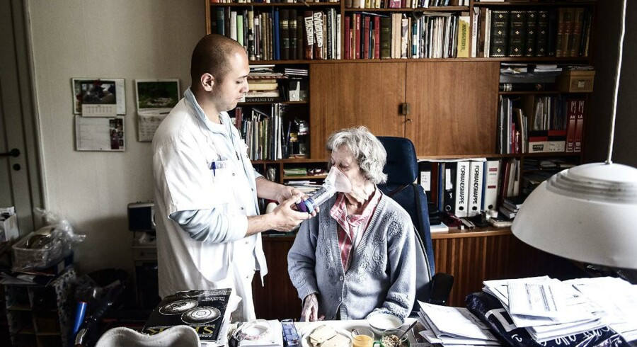 Arkivfoto: Mohamad Zarakit, sosu assistent hos Nørrebro hjemmepleje.