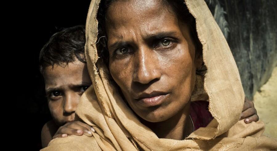 Asger Ladefoged vandt med billedet, han tog af 40-årige Rahima Katun, der i efteråret flygtede med sin mand og tre børn fra Myanmar.
