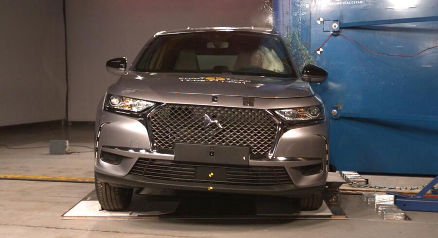 DS er klar med sin første SUV til det europæiske marked, og DS 7 Crossback skal bl.a. konkurrere med en anden SUV i testen, BMW X3. De opnår begge fem stjerner