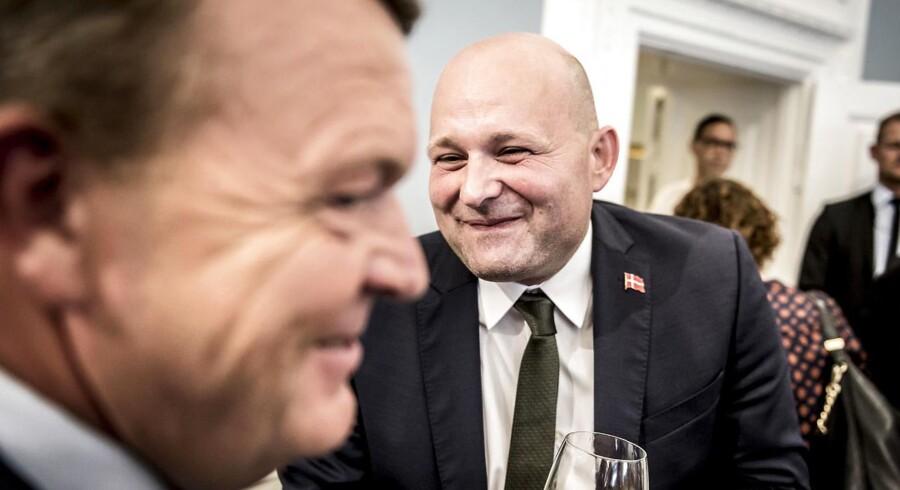 Justitsminister Søren Pape Poulsen (K) er ny mand på podiet, når danskerne skal bedømme, hvilke ministre der klarer hvervet bedst.