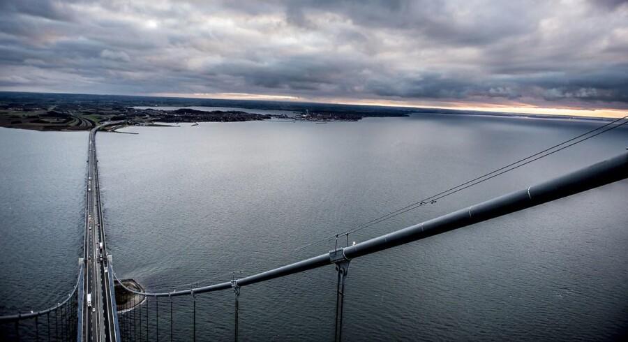Tilbagebetalingen på Storebæltsbroen kan blive udskudt med ny Kattegatbro.