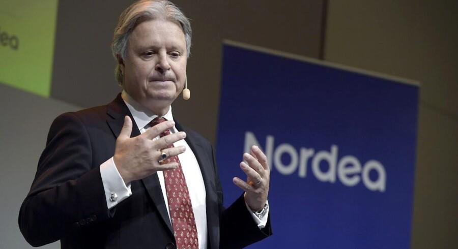Nordeas topchef Casper von Koskull. Foto: Janerik Henriksson / TT. (Foto: 10010 Janerik Henriksson/TT/Scanpix 2017)