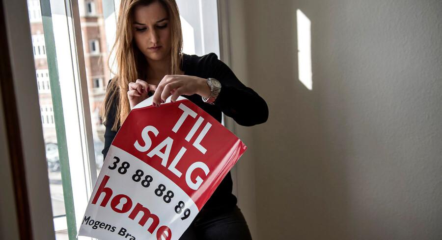 Et nyt overdragelsesdokument skal gøre det nemmere at handle andelsbolig. På billedet ses en andelsbolig til salg hos ejendomsmæglerkæden Home. Arkivfoto: Mathias Bojesen/Scanpix 2015