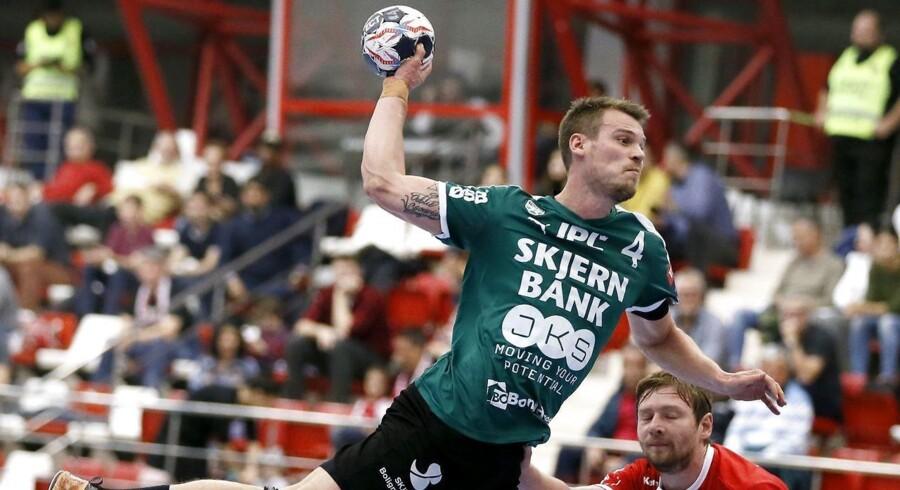 Markus Olsson, der er Skjerns næstmest scorende i 888 Ligaen, forlader klubben efter denne sæson.