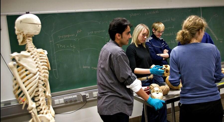 Medicin på Københavns Universitet er den uddannelse, som flest ansøgere har valgt som 1. proritet.