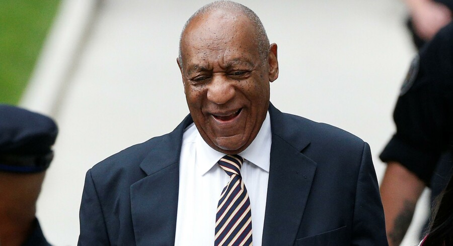 Bill Cosby (th.) blev for alvor kendt i serien The Cosby Show. Nu er han dog under anklage for sexovergreb. Reuters/Carlo Allegri
