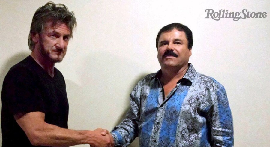Magasinet Rolling Stone har, efter at den mexikanske narkobaron Joaquin »Chapo« Guzman igen er pågrebet oven på sin seneste spekatkulære flugt fra et fængsel, offentliggjort et stort interview. som skuespilleren Sean Penn lavede med ham under flugten.